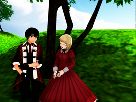 ::+MMD R-In the Field+:: by Apple-Rings