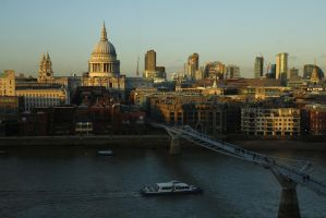 St Paul's Cathedral by Eccistam