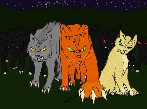 Don't mess with Thunderclan! by Dragoncat99