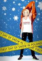 snow in Poland by SoundOfColor