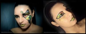 Butterfly Makeup - 01 by Luthy-Lothlorien