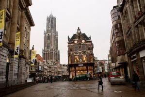 Centrum of Utrecht by esmecelene