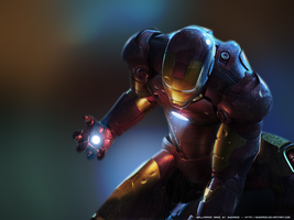 IRON MAN :: Wallpaper by Sherade