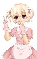 Chirkles Lineart by haneiy - Coloration by MissMuffin0o