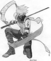Kakashi by Darkflameangel