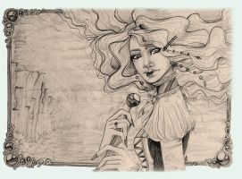 . lady of the winds . by karincoma