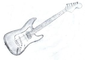 Fender Stratocaster by iampagan