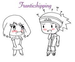 Franticshipping Doodle by ForbiddenchasmX