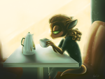 The Morning After by Lachtaube