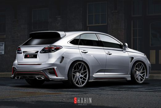Lexus RX 450 by Shahin Project by tuninger