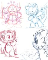lil dragon sketches by LeniProduction
