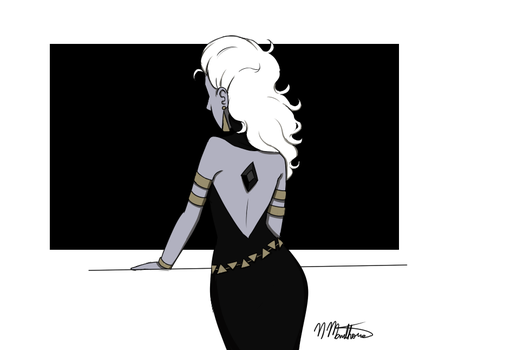 Black Diamond gemsona by nikki45e
