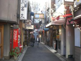 kyoto's back street by DISC-Photography