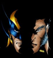 wolverine face by psychoheat