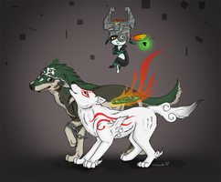 Link and Ammy by dipnoi