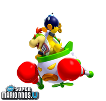 New Super Mario Bros. U: Bowser Jr. by Legend-tony980