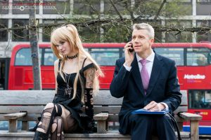 The Gothic-Lolita and the Businessman 3 by TPJerematic