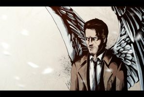 Castiel by luccain