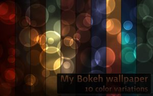 My Bokeh color variations by ethsza
