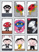 Family Guy Sketch Cards G by ElainePerna