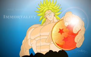 Broly's Wish Wallpaper by Spartan1028