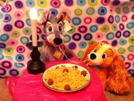 Bella Notte (Lady and the Tramp) by BeautifulHusky