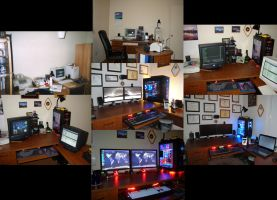 Evolution of my Home Office by climber07