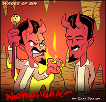 Wages of Sin by woohooligan