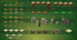 HandyCraft - Forest Pack v.01 by AMD-Design