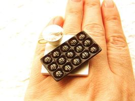 Chocolate Lovers Ring by souzoucreations