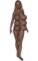 3D Multi-breast girl by boobalicious8000