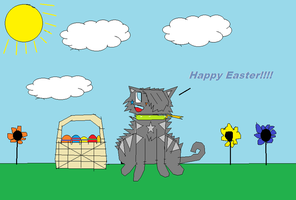 HAPPY EASTER MY FRIENDS =3 by babyboy1234