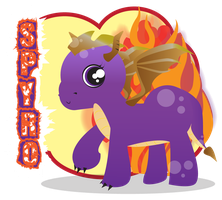 my little spyro by Lucora