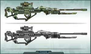 THON Weapon 6 by JustMick