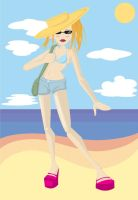 beach by Val-eithel