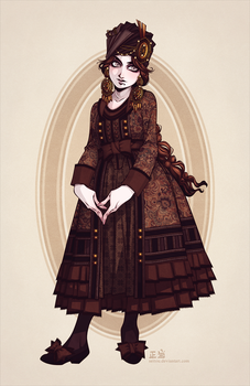 Fallene's Spring and Summer Day Dress by Seitou