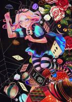 Alice in Wonderland by Rin54321