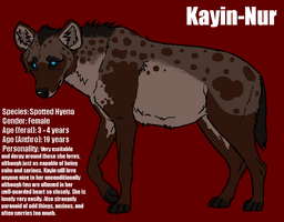 Kayin-Nur (Lineart by lhuin) by DindellaTheDefender