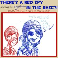 Red spah in thah base by tiger-phantom