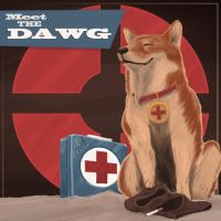 TF2 Medic Dog Idea by cluis