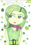 Disgust- Inside Out by RyuShaina