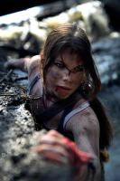 Lara Croft-Something that pushes us by Anastasya01