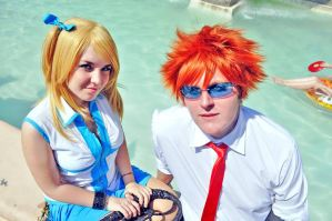 Lucy Heartphilia cosplay from fairy tail by ValeeraHime