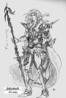 Cecil Harvey, Dissidia by unknown3173