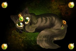 Earth Kitty by lizspit
