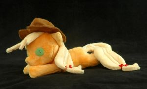 Beanie Baby Applejack Plushie by WhiteHeather