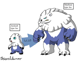 Fakemon: Northern Monsters remake by Brian12