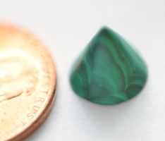Malachite Cone Penny by lamorth-the-seeker