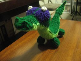 Gummy the Alligator Crochet by Hiddenwithinthunder