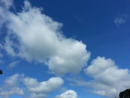 just clouds by GUDRUN355